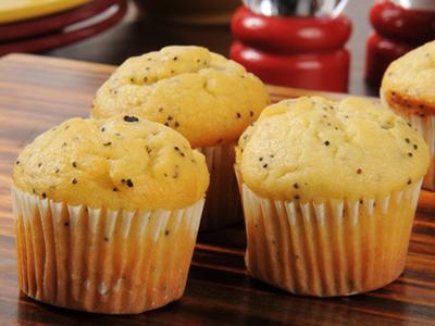 REC. GOURMAND. - Muffins au citron et au pavot bleu