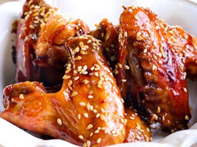 REC. PLAT - Poulet marnié au gingembre et aux graines de sésame - recadrée
