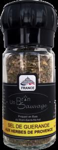 Sel de Guérande aux Herbes de Provence moulin