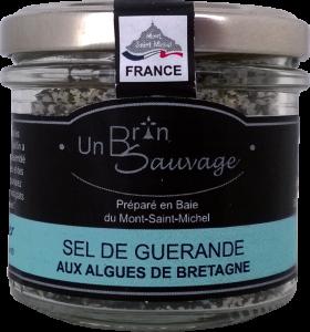 Sel de Guérande aux algues de Bretagne pot