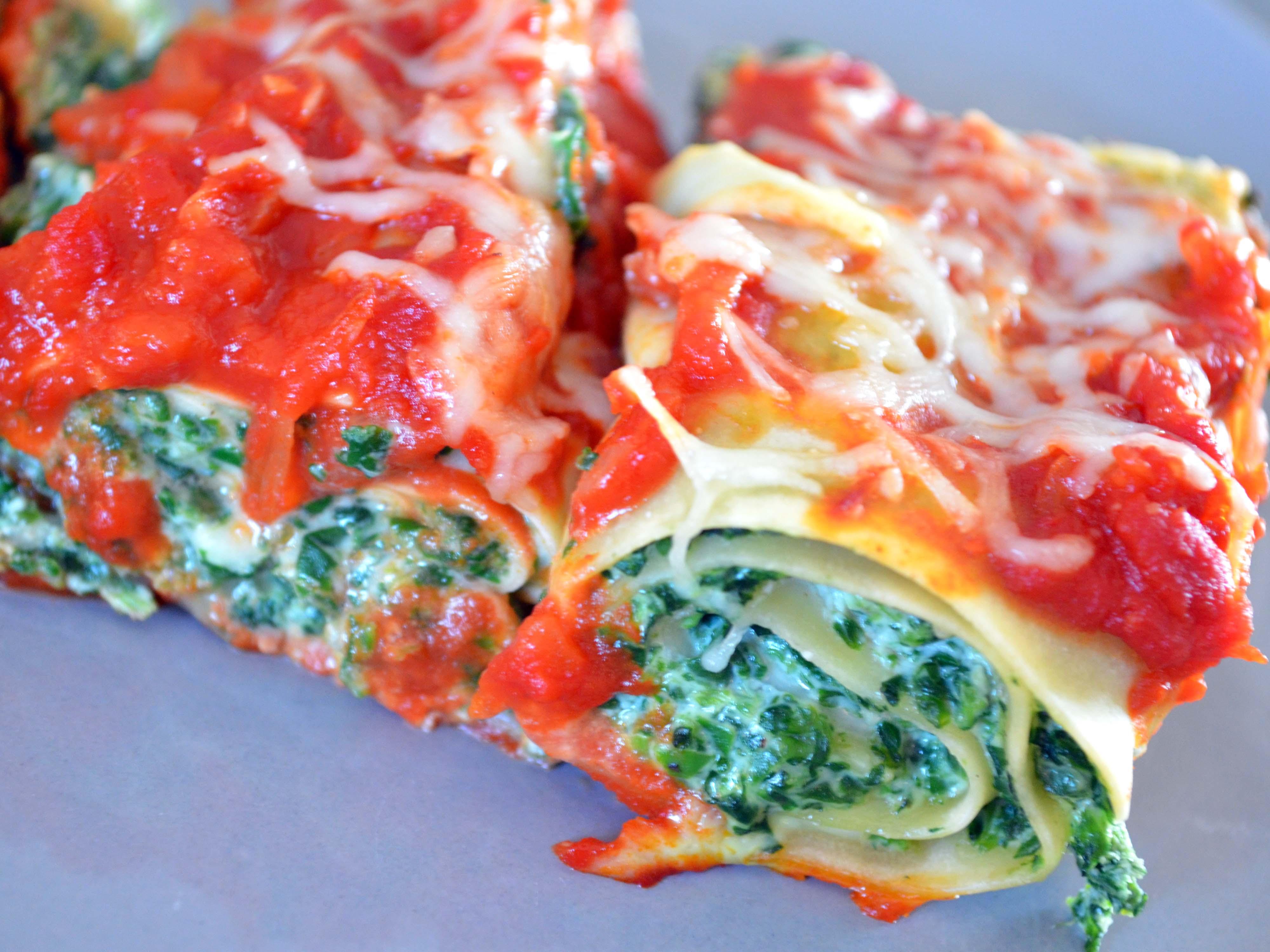 REC_Rolls de Lasagne Epinard Ricotta